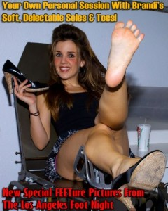 at a live foot worship event in L.A. 240x300 Am I a Prostitute? You Decide!
