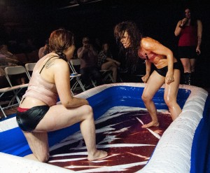 BWrestling101 300x247 Porn Shops and Blood Wrestling