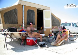 zTim and Sarah 300x214 Burning Man, Maaaaaaaan...