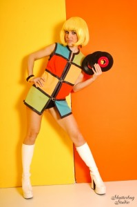 01 60s Funky Outfit with Records 002 web 199x300 Wonderhussy vs. the Bedazzled Bumpkins