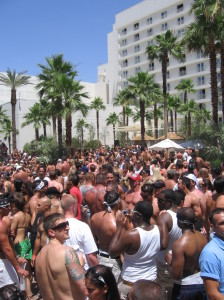 a typical Vegas pool party. SHUDDER!