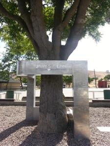 James Dean death memorial
