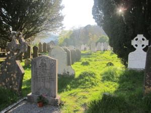 Irish monastery graveyard!