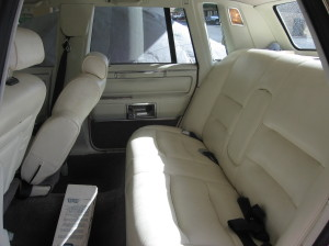 I want a backseat big enough to fit the entire cast of Goodfellas!!