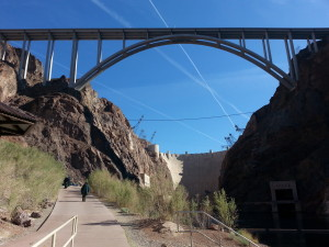 launching below the Hoover Dam
