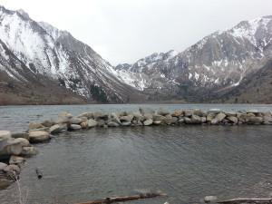 an alpine lake near Mammoth