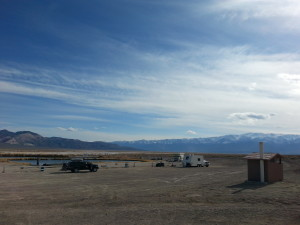 Overview of Fish Lake Hot Spring