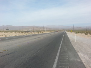 the lonely road to Area 51