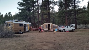 camping next to the Be-hicle crew's awesome golden 1967 RV