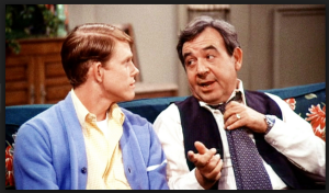 Tom Bosley, a/k/a Mr Cunningham, teaching Richie Cunningham a life lesson