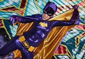 Batgirl in happier days pic by Maze