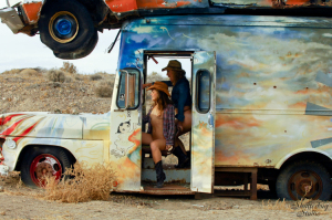 12 Cowgirls in a Truck 007 web 300x199 Villains and Superheroines and the Busted Bunny Ranch