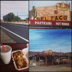 Tita's Burger Den/the old Del Taco in Yermo
