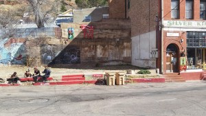Street bum kids in Bisbee