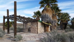 Abandoned warm springs in Moapa