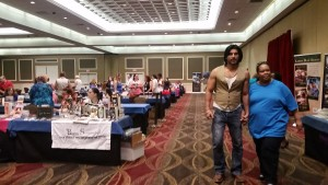 at the romance novel convention