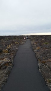 a trail at Craters of the Moon