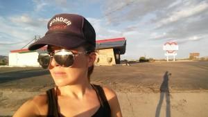 Back in the desert