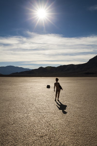 Racetrack playa by Irisphoto