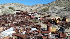Old junk pile near Barker Ranch