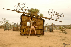 Sculpture by Noah Purifoy, photo by Shutterbug Studio