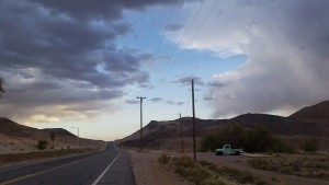 Road thru Tecopa