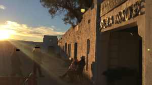 Sunset at the Amargosa Opera House