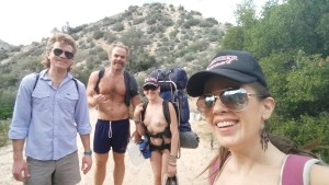 Deep Creek hiking posse