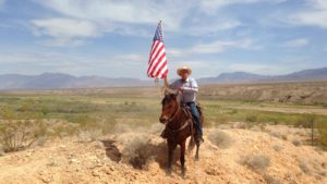 Bundy Ranch Cliven Horseback 300x169 Nude Meddling in BundyLand