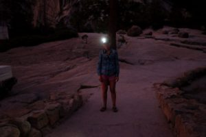 night hiking photo by Alec Dawson